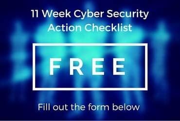 Information Security Training Checklist