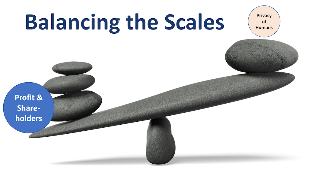 GDPR Balancing the Scales for Privacy for Humans