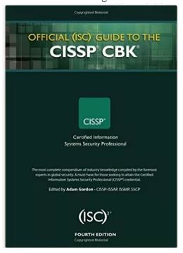 Latest CISSP book