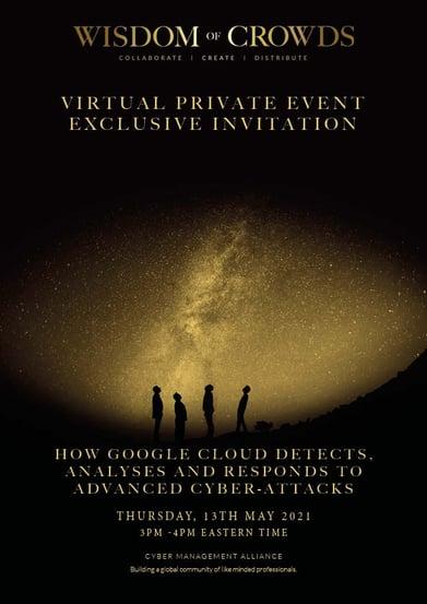 Google Wisdom of Crowds Exclusive Invitation 13th May 2021 Canada