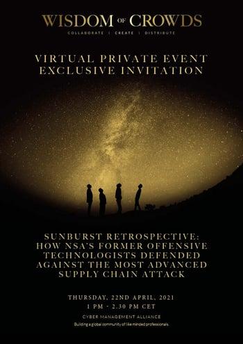 Ironet Private Exclusive Invitation - 22nd April 2021