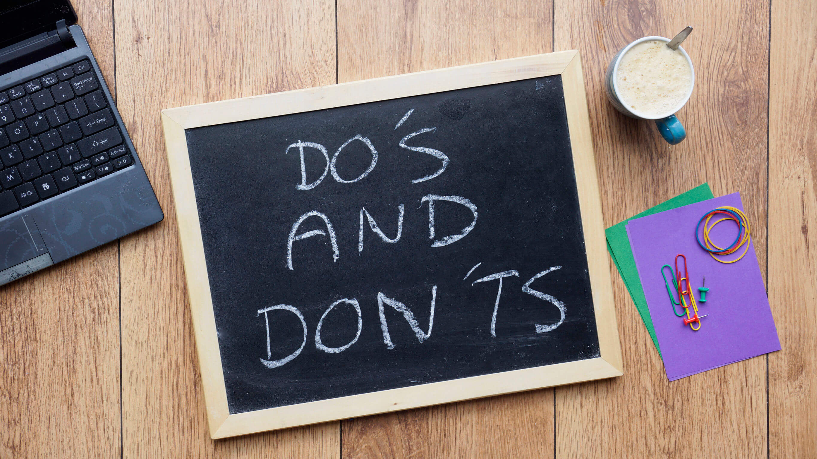 Cyber Security Dos & Don'ts for Remote Working