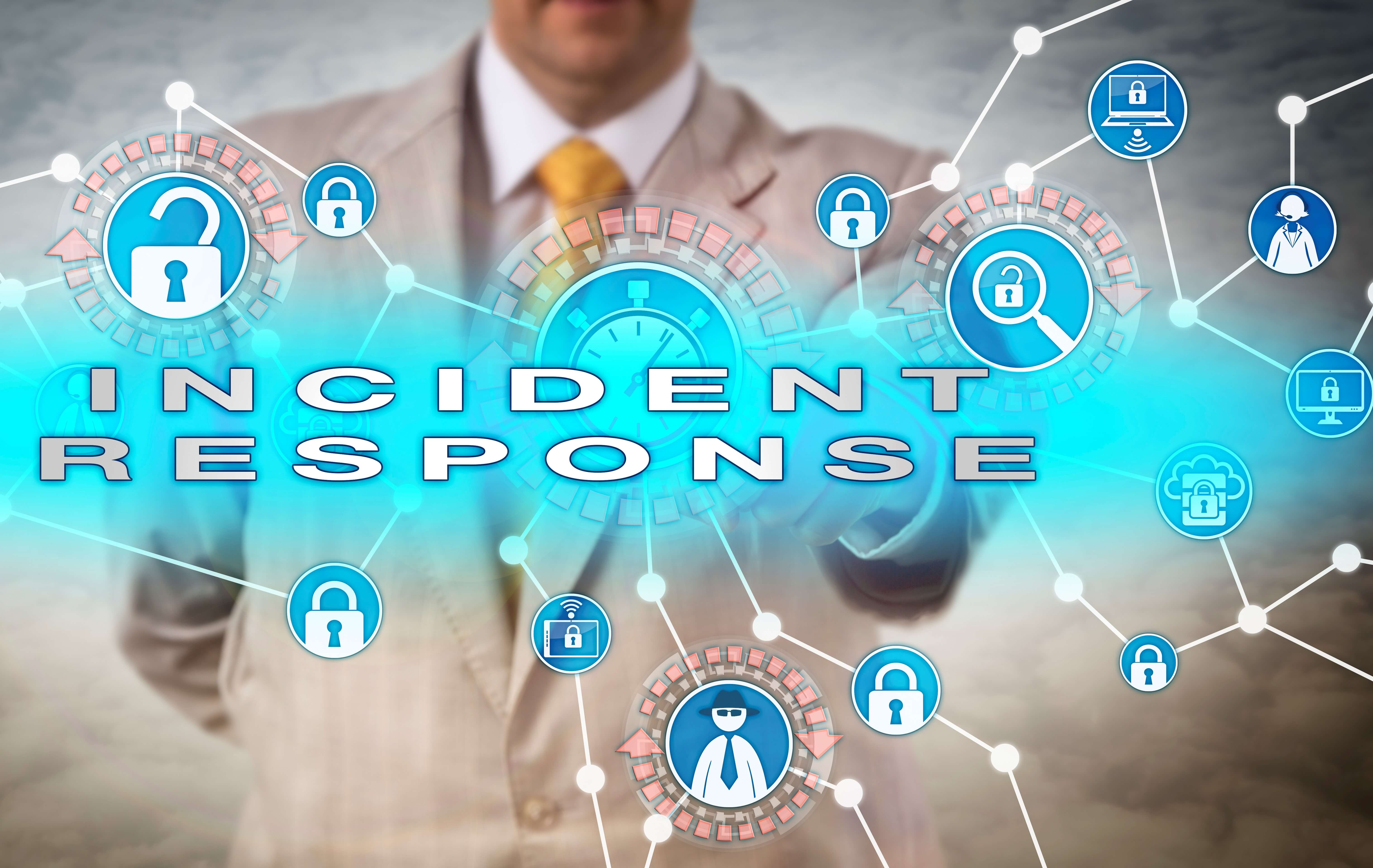 What are the 6 Phases in a Cyber Incident Response Plan?