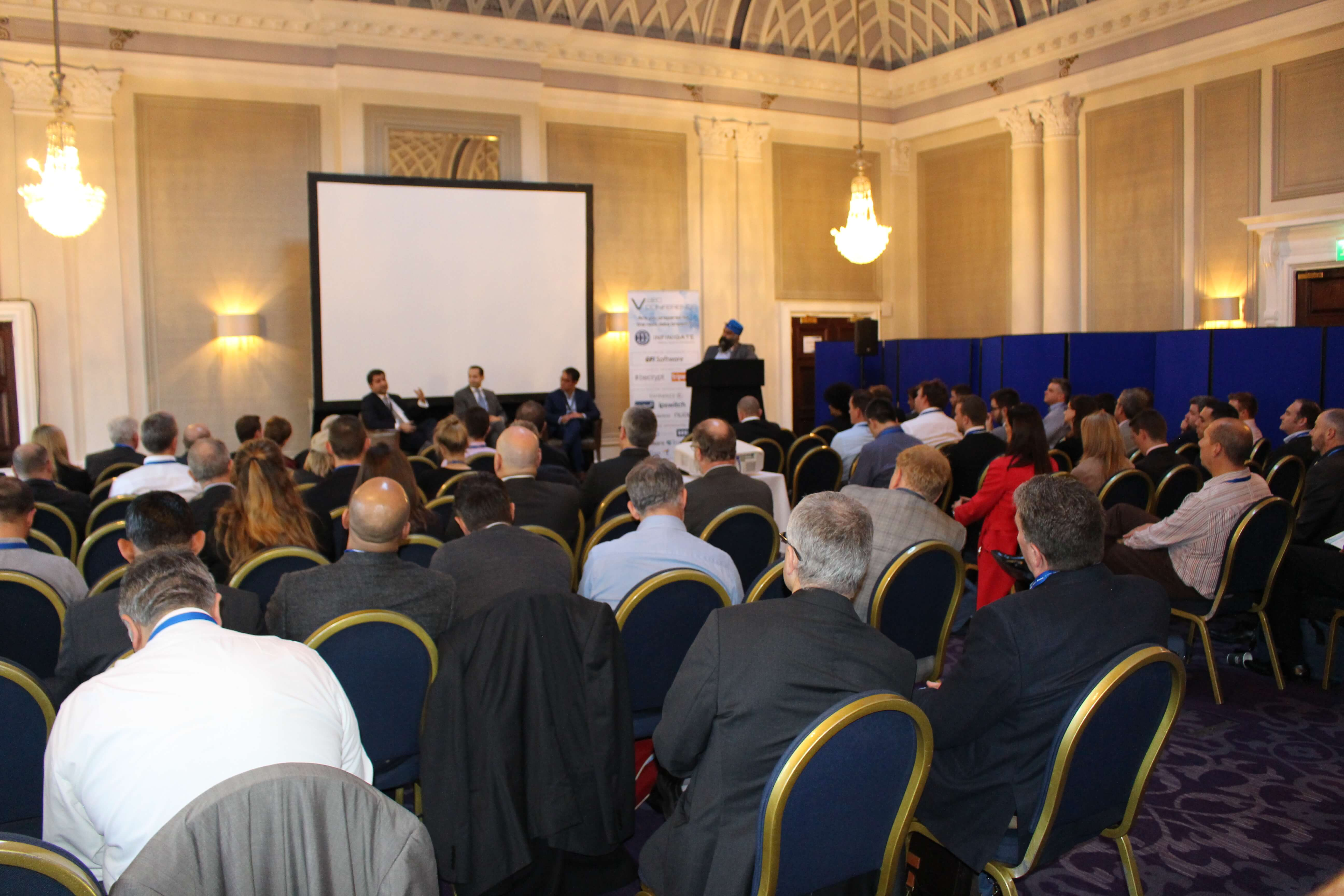 Amar Singh Participates at the V.SEC Conference in London