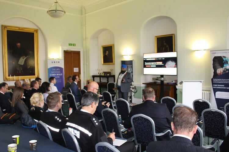 Police Turn Out in 'Force' for Cyber Security Training