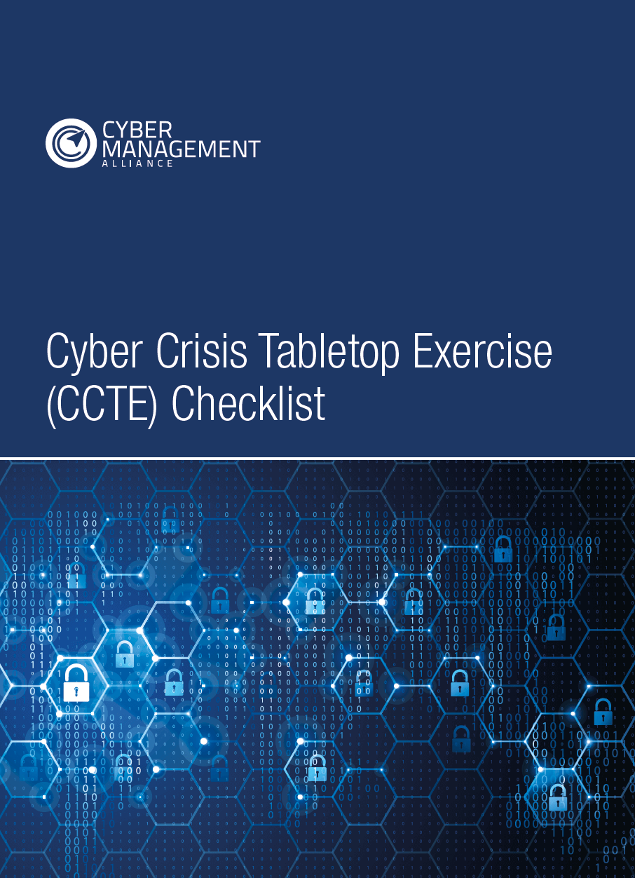 Cyber Crisis Tabletop Exercises Checklist