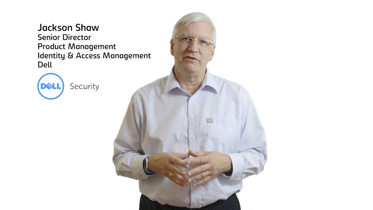 Jackson Shaw Dell Security talks about Privileged Access Management