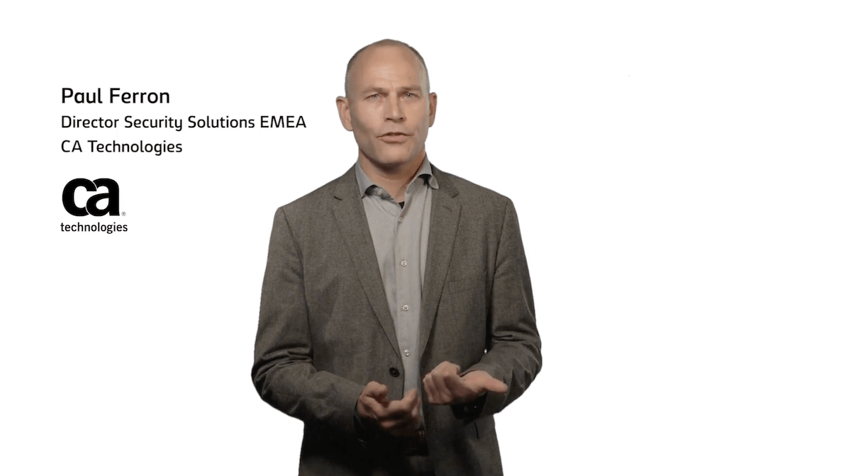 CMA discuss 'security in a virtual world' with Paul Ferron, CA Technologies