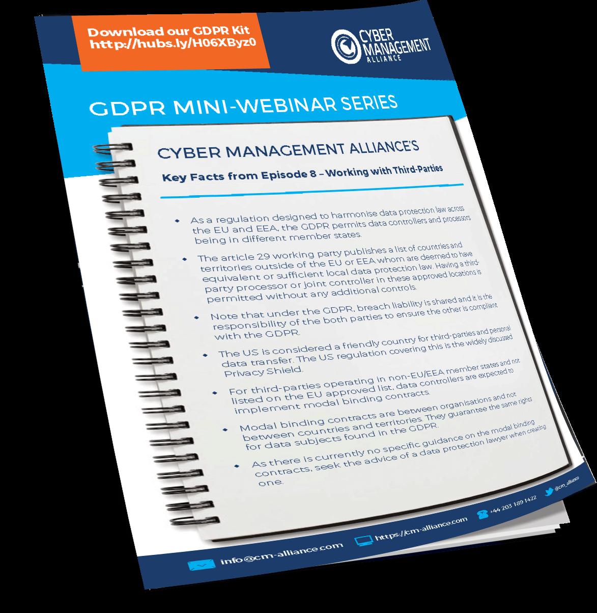 GDPR Summary