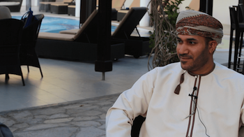 Amar Singh Talks to Abdullah Al Barwani, Director-General at ITA, Oman