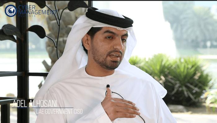 Adel Al Hosani, CISO and Head of Information Security for Dubai Customs
