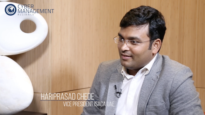 Hariprasad Chede, President of ISACA, UAE Chapter & CISO