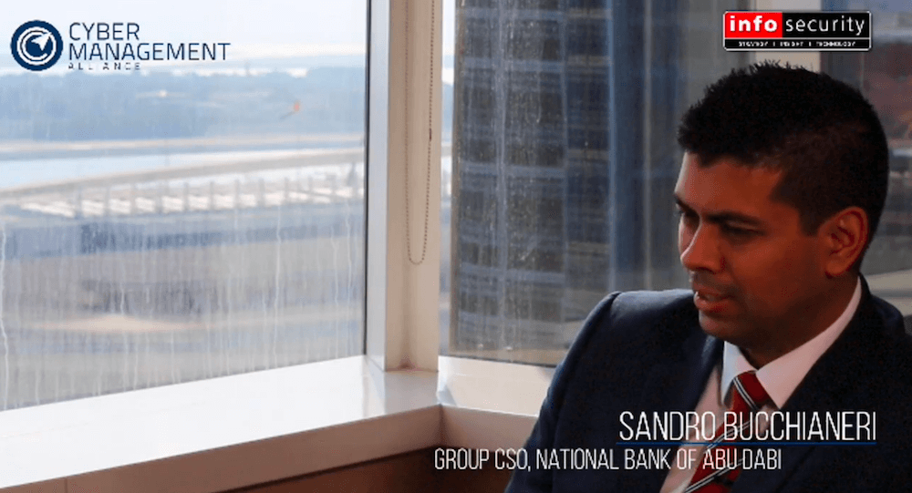 Amar Singh Interviews Sandro Bucchianeri, Group CSO of the National Bank of Abu Dhabi