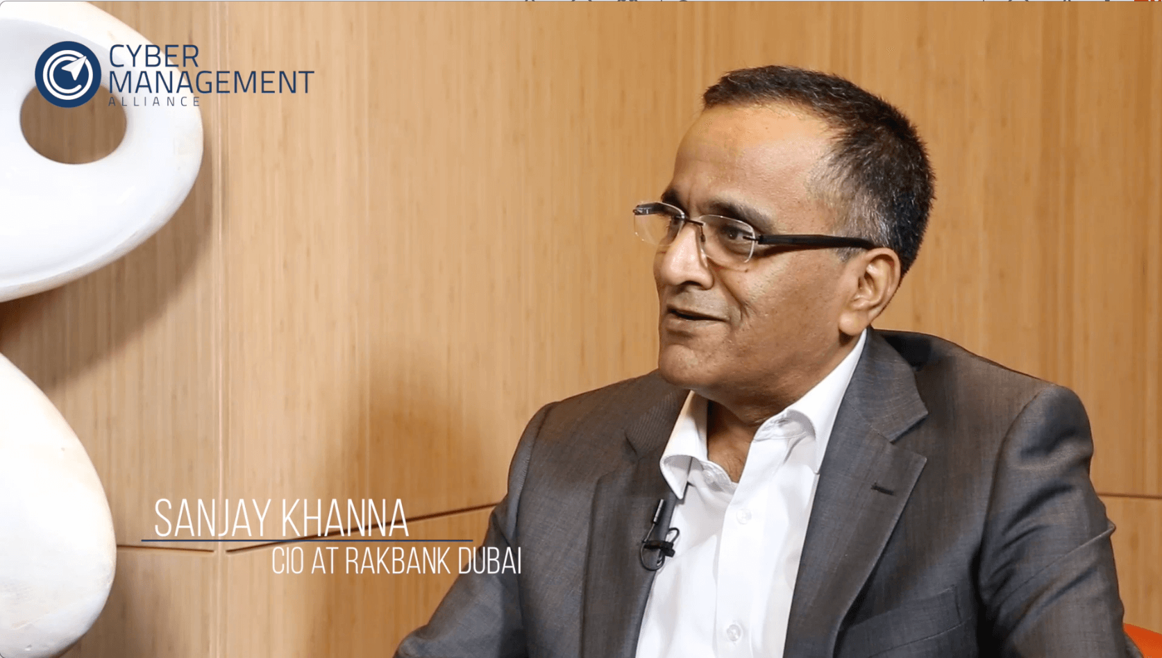 'Passion, compassion and being brave will lead you to CIO…' Sanjay Khanna, Rakbank