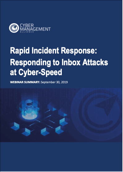 Rapid Incident Response Webinar Summary Image