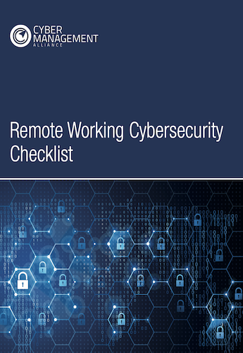 Remote Working Cybersecurity Checklist