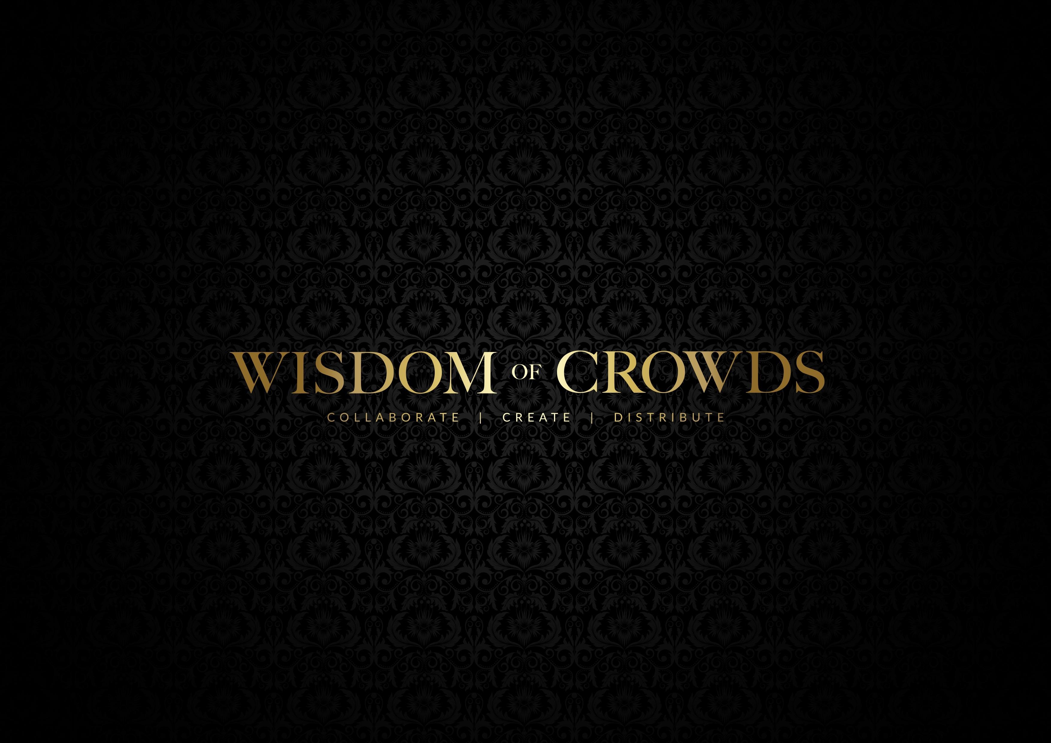 Wisdom of Crowds logo black background (1)
