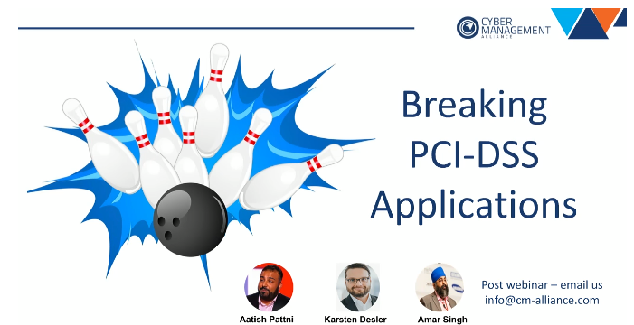 How to break a PCI Compliant Application
