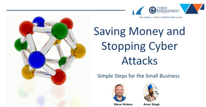 Saving Money and Stopping Cyber Attacks