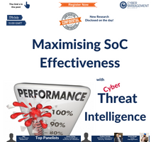 Maximising SoC Effectiveness With Advanced Threat Intelligence