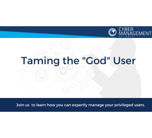 how you can expertly manage your privileged users?